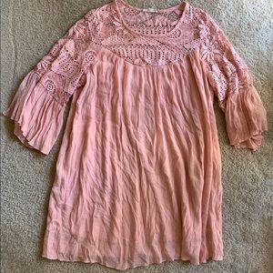 Women's Lace Dress long sleeve